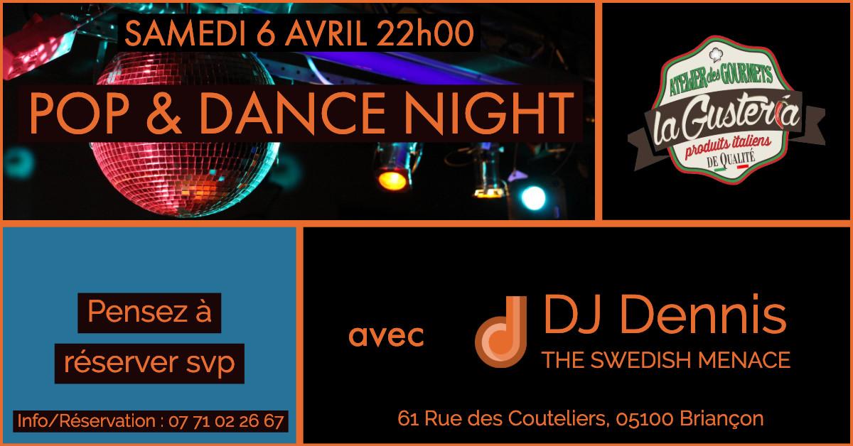 POP & DANCE NIGHT